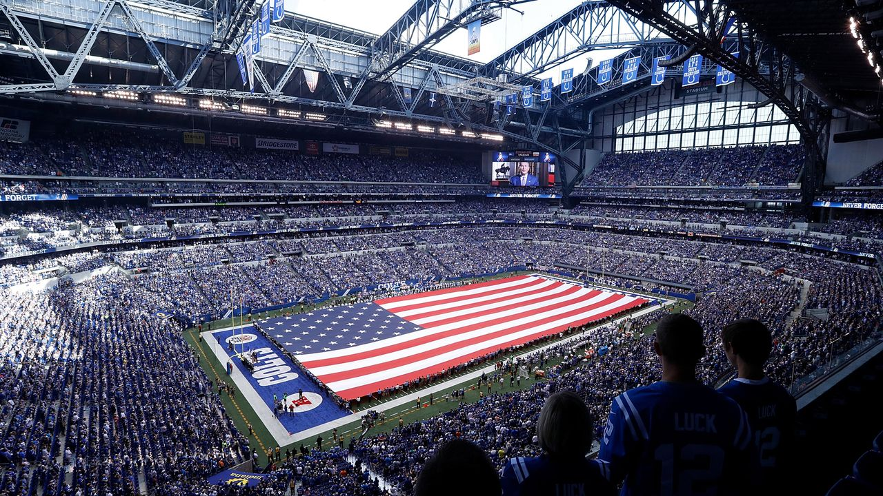 Indianapolis Colts: Lucas Oil Stadium - Bildquelle: Getty Images