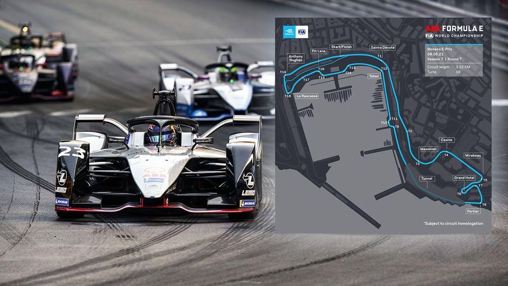 Die Formel E bestreitet am 8. Mai ein geschichtsträchtiges Rennen in Monaco. - Bildquelle: Imago Images/FIA