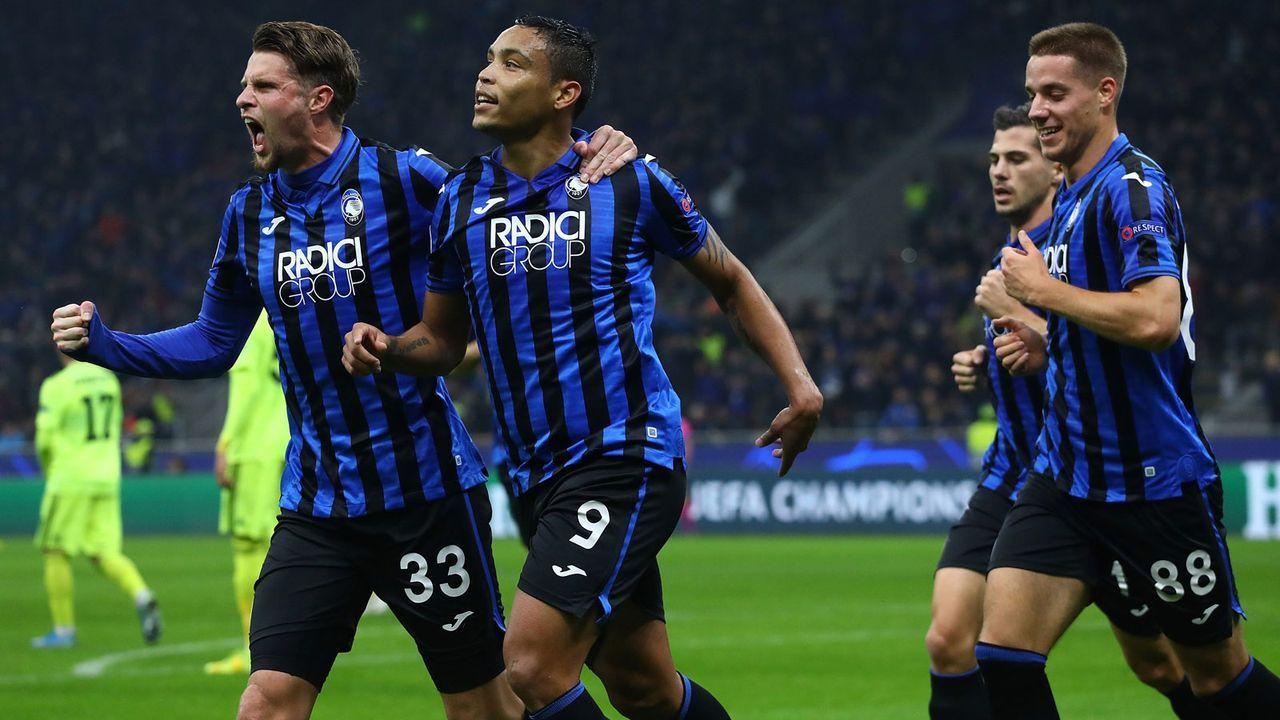 Platz 6: Atalanta Bergamo  - Bildquelle: 2019 Getty Images