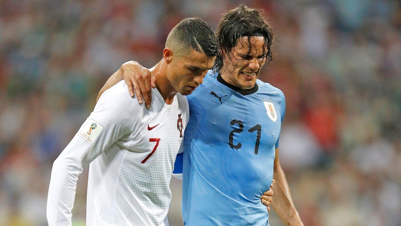 Ronaldo und Cavani - Bildquelle: 2018 Getty Images