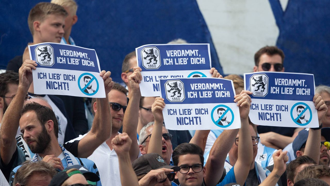TSV 1860 München - Bildquelle: imago images / Oryk HAIST