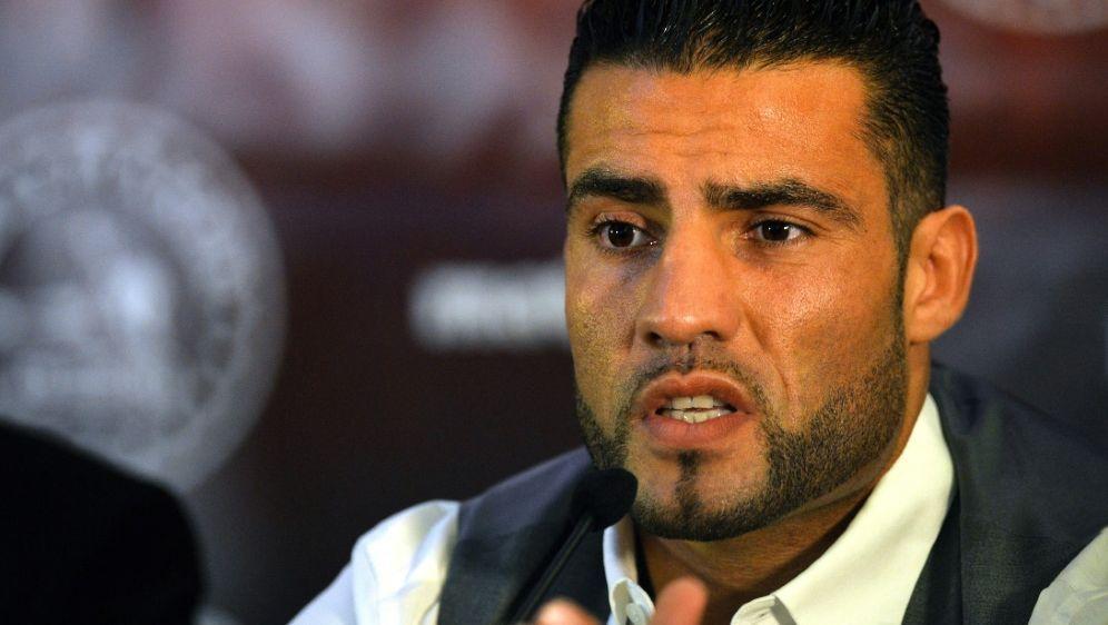 Mahmoud Charr (hier 2013) vor dem Kampf gegen David Haye - Bildquelle: AFPSIDPAUL ELLIS