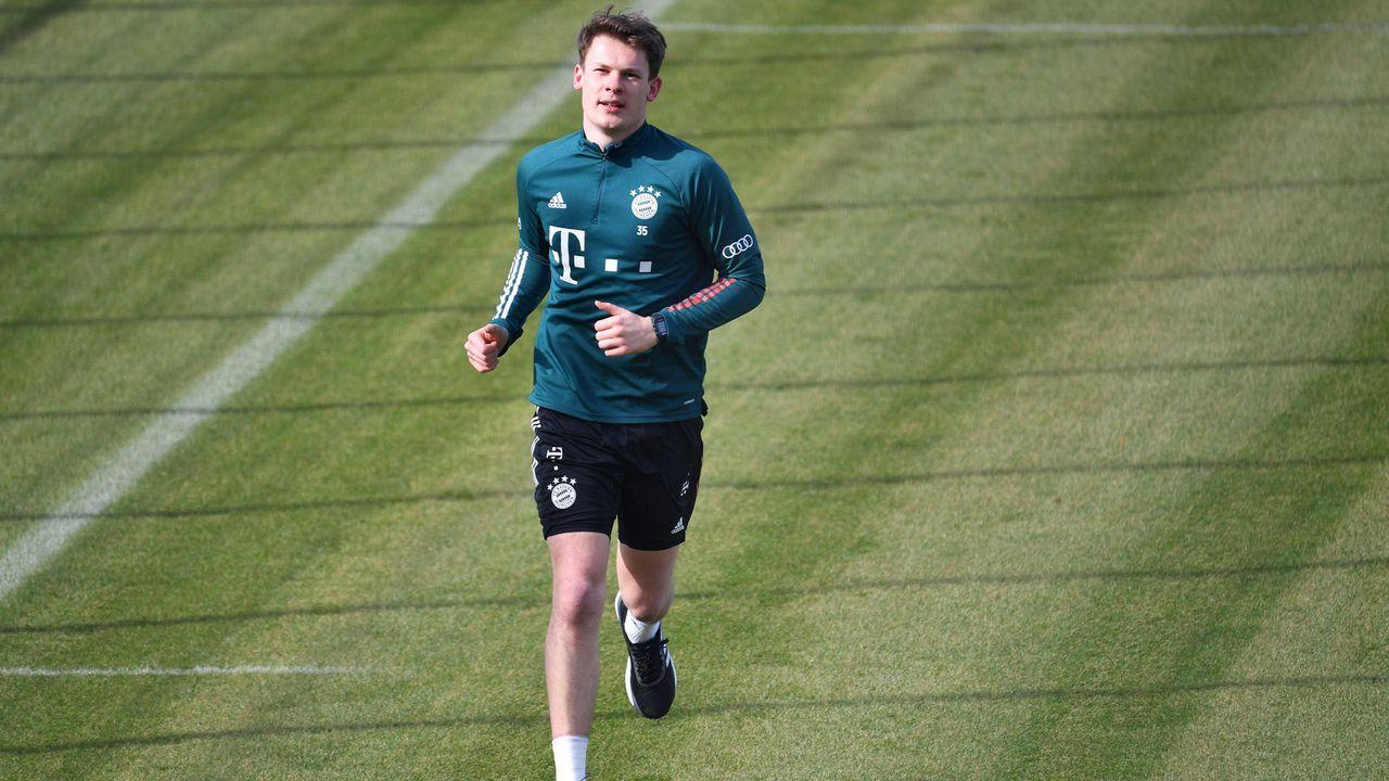 Alexander Nübel (FC Bayern München) - Bildquelle: imago images/Sven Simon