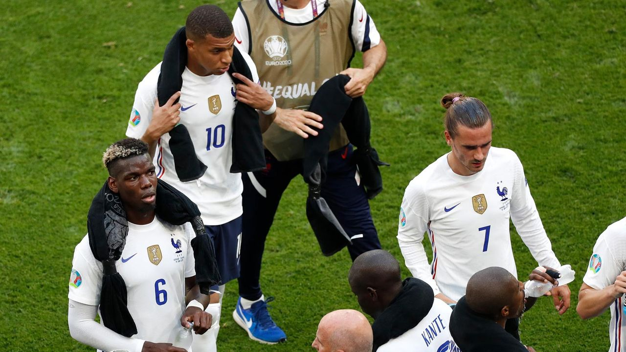 Gruppe F: Frankreich ... (4 Punkte/2:1 Tore) - Bildquelle: getty