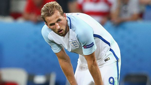 Angriff: Harry Kane (England) - Bildquelle: 2016 Getty Images