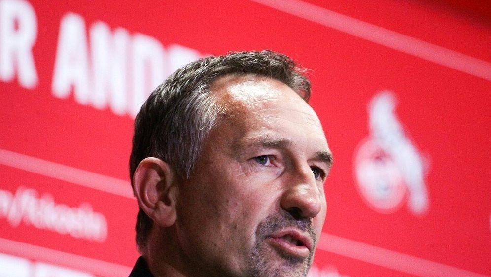 Achim Beierlorzer wird neuer Trainer des 1. FC Köln - Bildquelle: FIROFIROSID