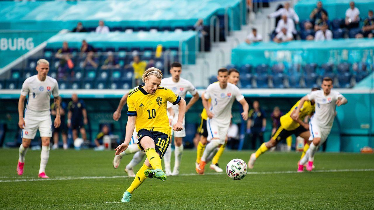 Forsberg legte sich den Ball auf den Punkt - Bildquelle: imago images/Bildbyran