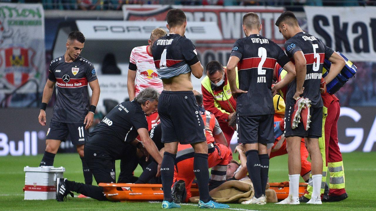Verlierer: Das Lazarett des VfB Stuttgart - Bildquelle: Imago