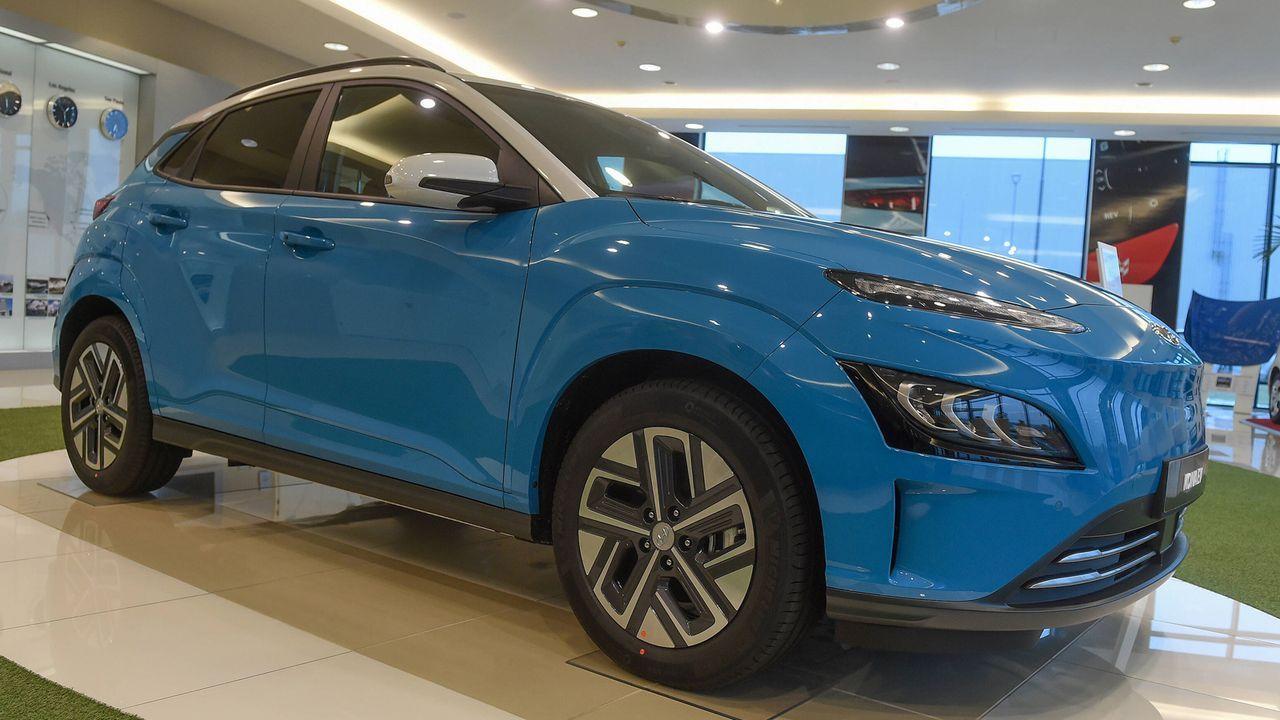 7. Hyundai Kona Elektro (64 kWh)  - Bildquelle: imago images/CTK Photo