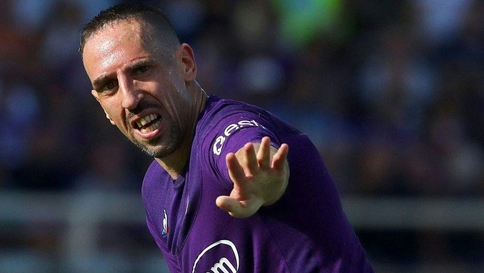 Ribery fällt wegen Knöchelverletzung zwei Wochen aus - Bildquelle: PIXATHLONPIXATHLONSID