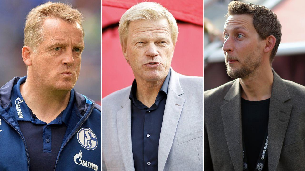 Kahn und Co.: Früher Spieler-Ikonen, heute Funktionäre - Bildquelle: Getty Images/Imago