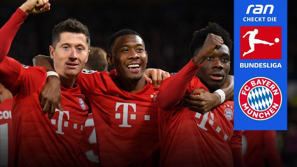 Der FC Bayern ist auch 2020/21 in der Bundesliga das Team, das es zu schlage... - Bildquelle: Getty