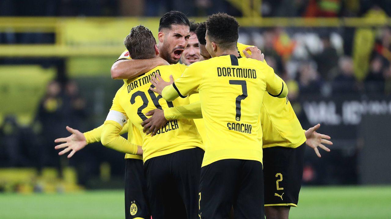 Dortmund überrollt schwache Eintracht: Die BVB-Stars in der Einzelkritik - Bildquelle: Imago Images