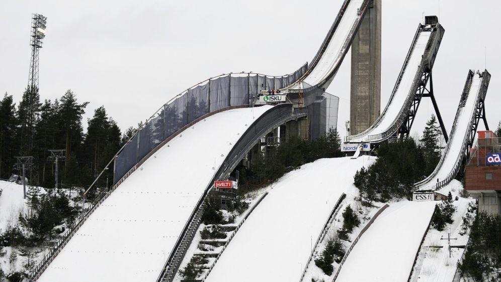 Coronafälle vor Start in Lahti - Bildquelle: AFPSIDOLIVIER MORIN