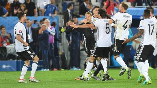 Deutschland vs. Italien - Bildquelle: imago/Sven Simon