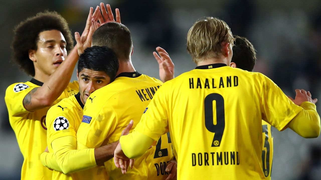 Platz 4: Borussia Dortmund - Bildquelle: getty