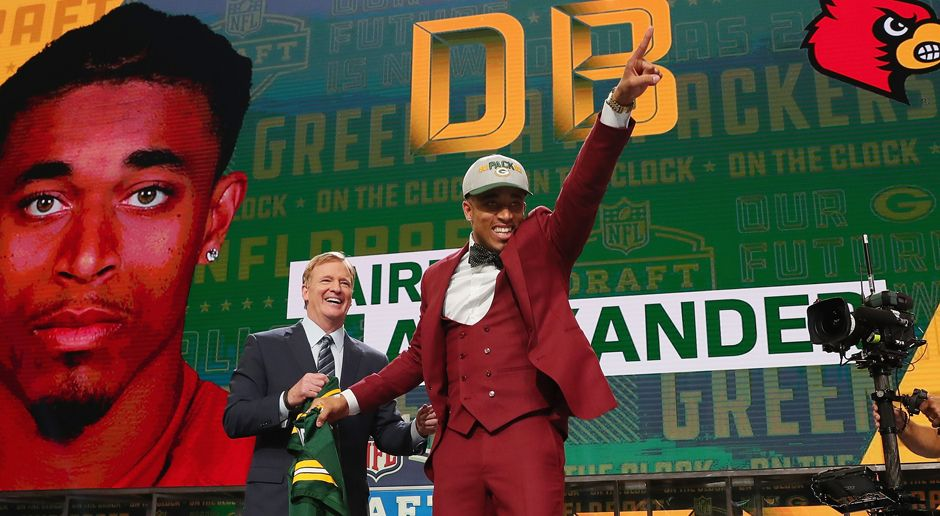 18. Pick - Green Bay Packers: CB Jaire Alexander - Bildquelle: getty