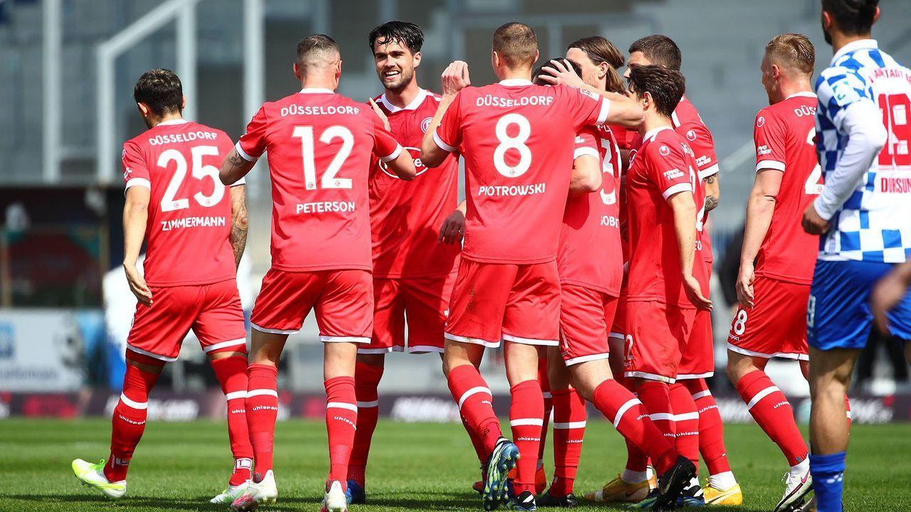 Fortuna Düsseldorf (4. Platz - 49 Punkte) - Bildquelle: imago images/Eibner
