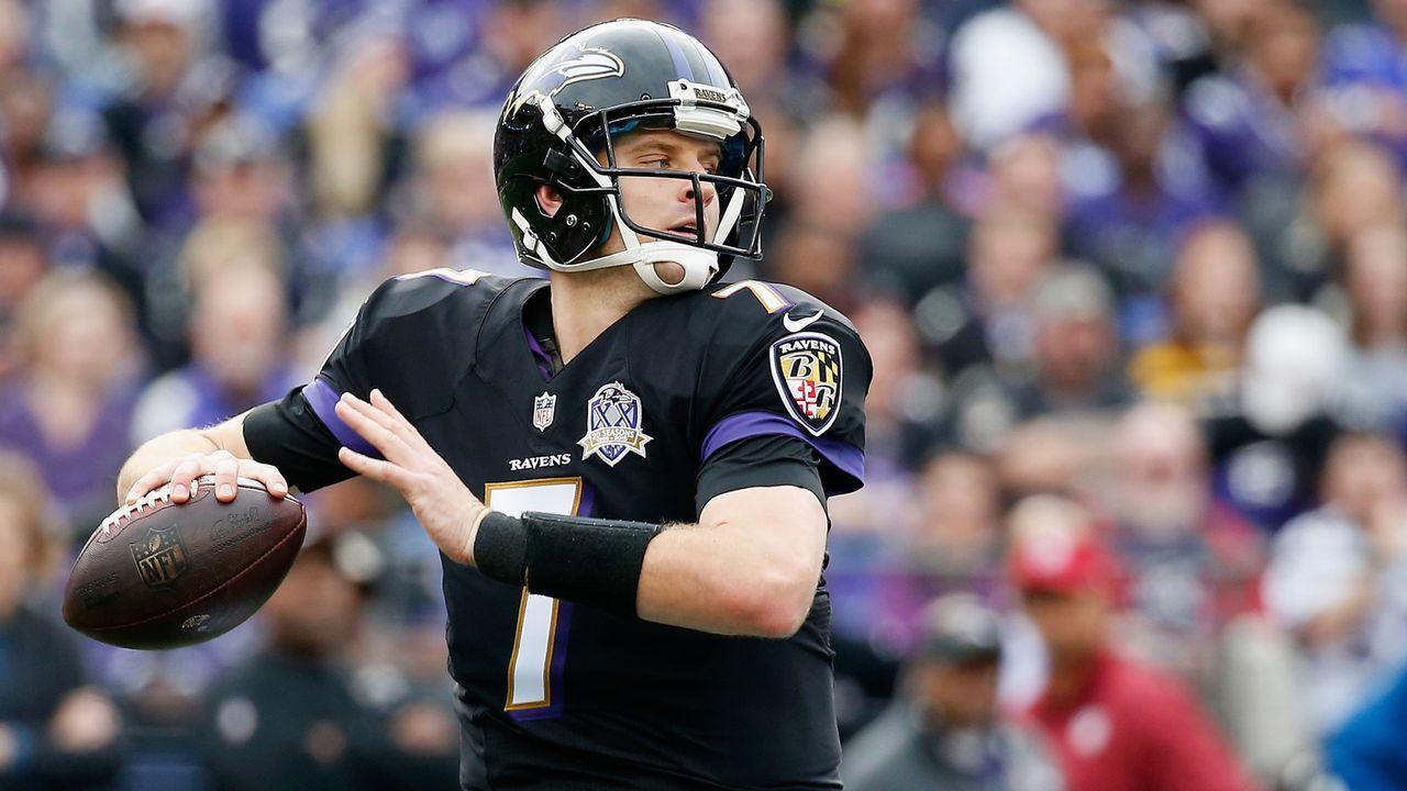 16. Duell: Ryan Mallett führt Ravens zum Sieg - Bildquelle: 2015 Getty Images