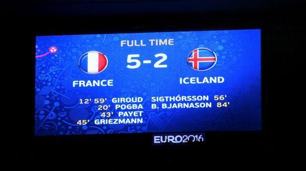 Frankreich vs. Island - Bildquelle: getty