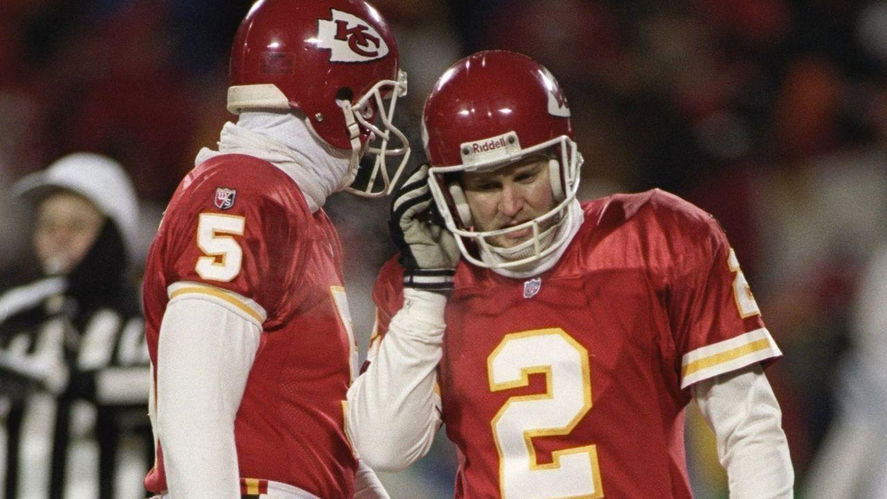 Season 1995: Lin Elliott (Kansas City Chiefs) - Bildquelle: Getty Images