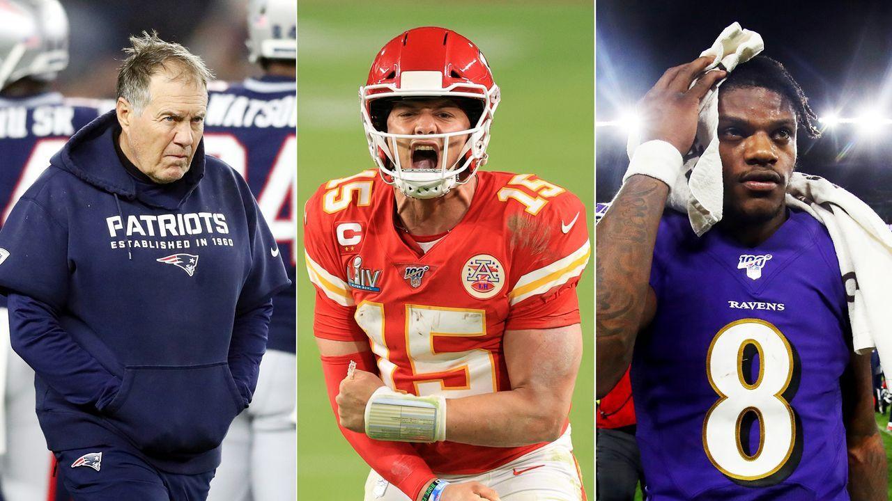 Power Ranking der NFL Divisions nach Brady-Beben und Free-Agency-Start - Bildquelle: Getty Images