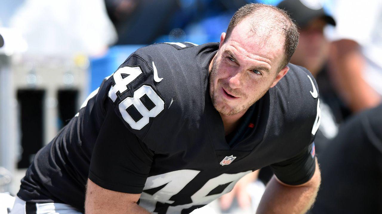 Platz 10: Andrew DePaola (Oakland Raiders) - Bildquelle: imago/Icon SMI