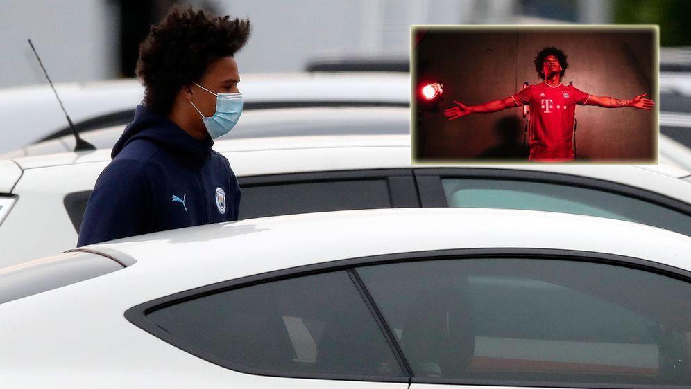 Der Transfer von Leroy Sané zum FC Bayern ist noch nicht offiziell, aber auf... - Bildquelle: imago