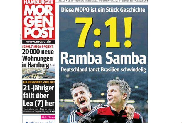 Hamburger Morgenpost - Bildquelle: Hamburger Morgenpost