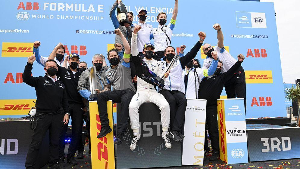 SAT.1 hat während des Formel-E-Wochenendes in Valencia die Millionen-Marke g... - Bildquelle: Imago Images
