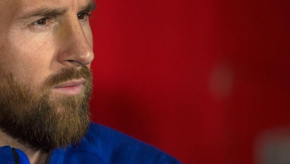Wird im Testspiel gegen Deutschland fehlen: Lionel Messi - Bildquelle: AFPAFPJORGE GUERRERO