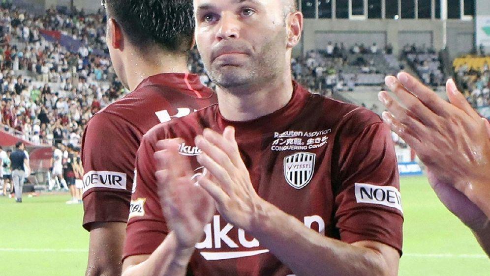 Erste Niederlage für Iniesta bei Vissel Kobe - Bildquelle: JIJI PRESS  AFPSIDJIJI PRESS