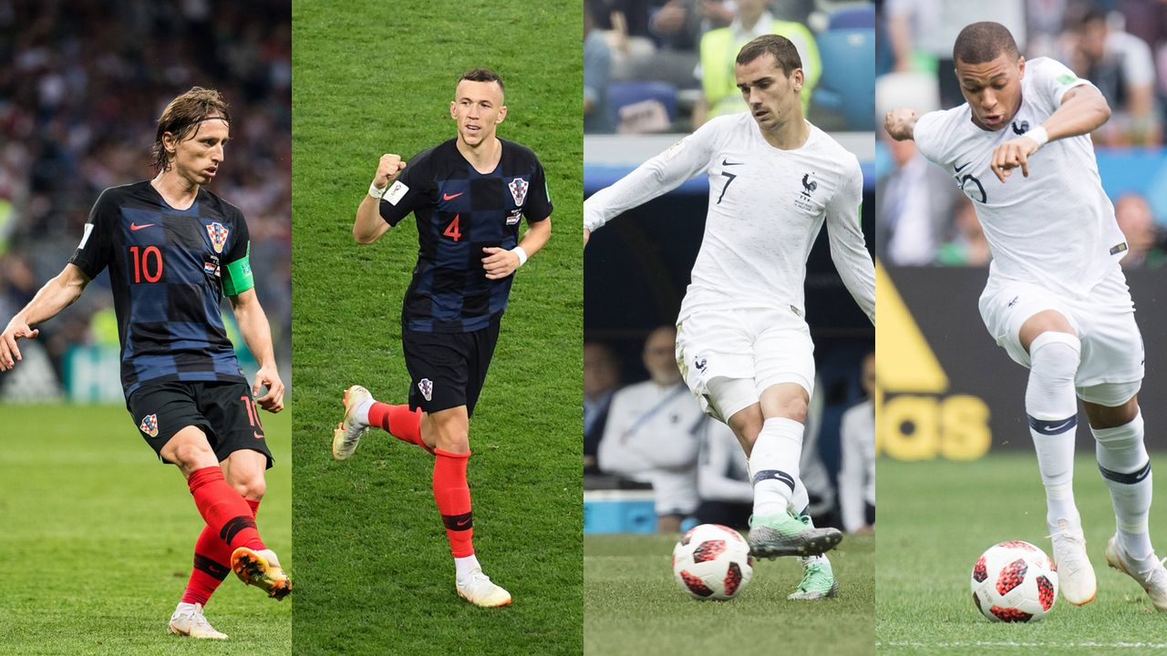 WM-Finale 2018: Kroatien vs. Frankreich im Head-to-Head  - Bildquelle: Imago