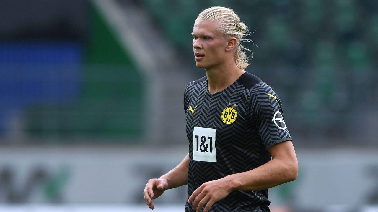 Platz 3: Erling Haaland (Borussia Dortmund) - Bildquelle: imago images/Revierfoto