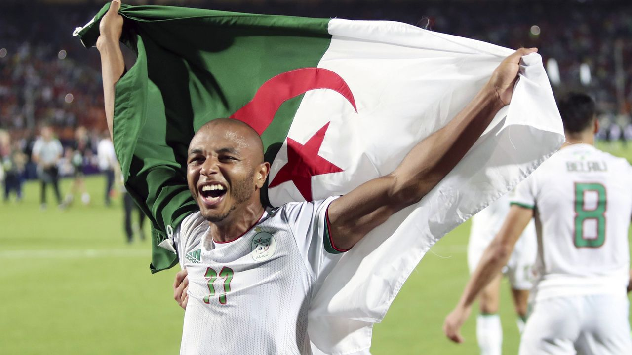 Yacine Brahimi (Al Rayyan Sports Club) - Bildquelle: Xinhua News Agency