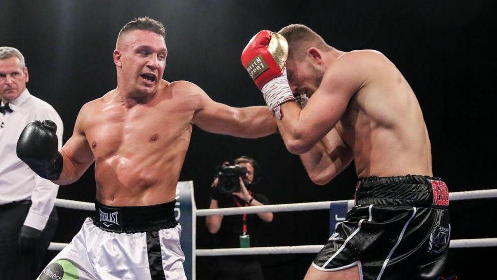 Nick Hannig (l.) ist in sechs Profikämpfen noch unbesiegt - Bildquelle: Petkovic