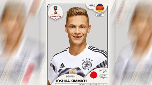 Joshua Kimmich (FC Bayern München) - Bildquelle: Panini