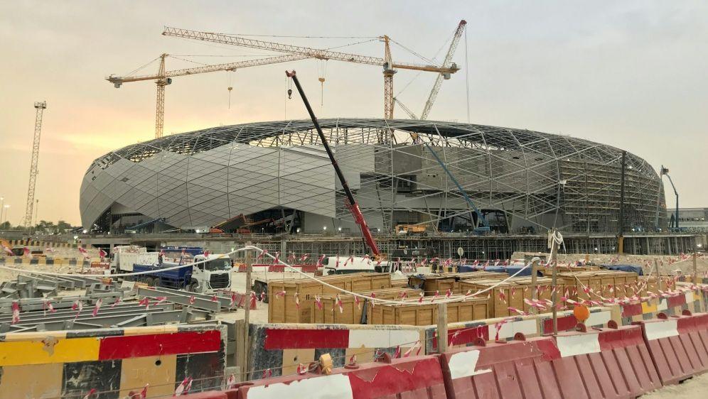 Das Education City Stadium in Ar-Rayyan, Katar - Bildquelle: AFPSIDKARIM ABOU MERHI