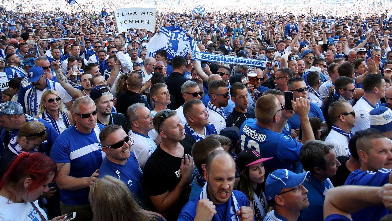 Platz 2: 1. FC Magdeburg - Bildquelle: 2018 Getty Images