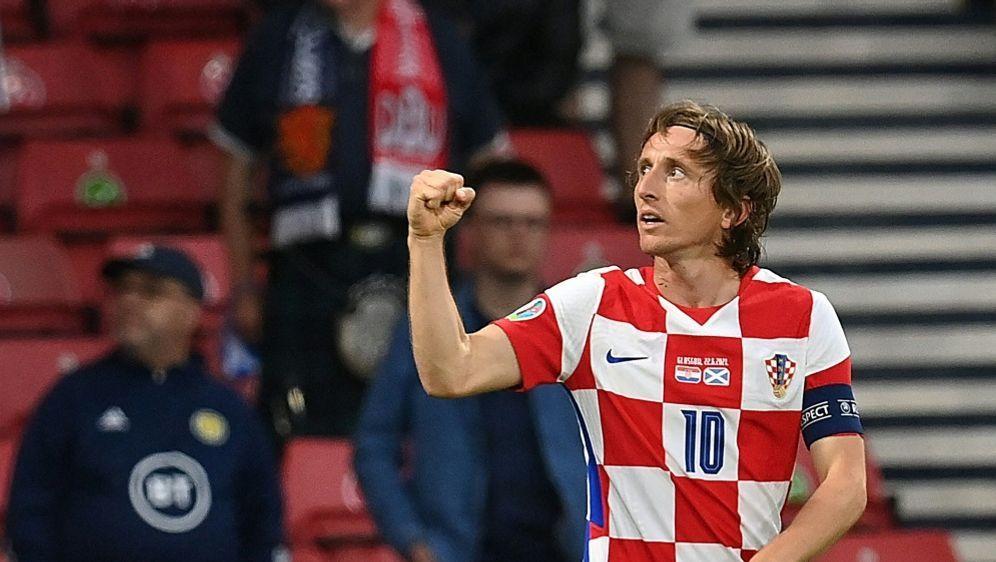 Modric schießt die Kroaten ins Achtelfinale - Bildquelle: AFPPOOLSIDPAUL ELLIS