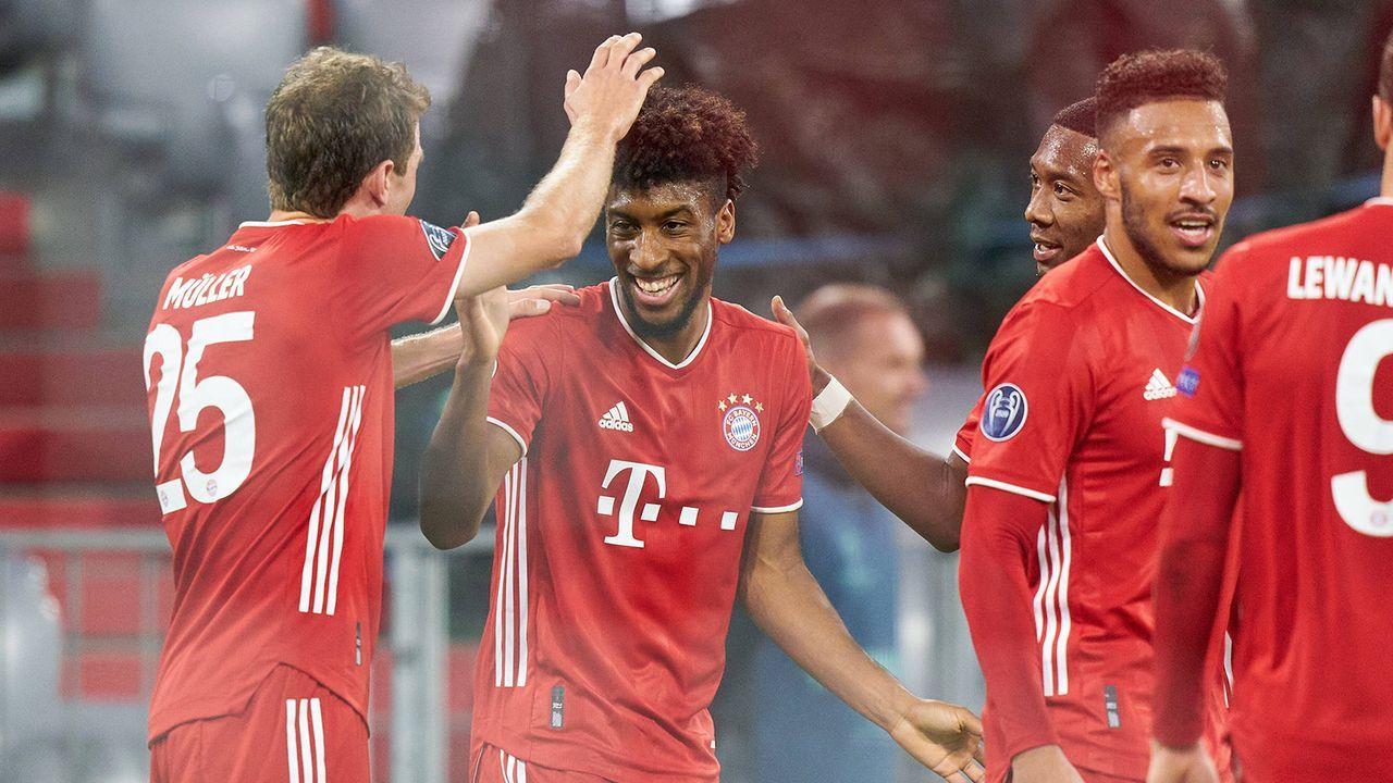 Bayern-Gala gegen Atletico zum CL-Auftakt