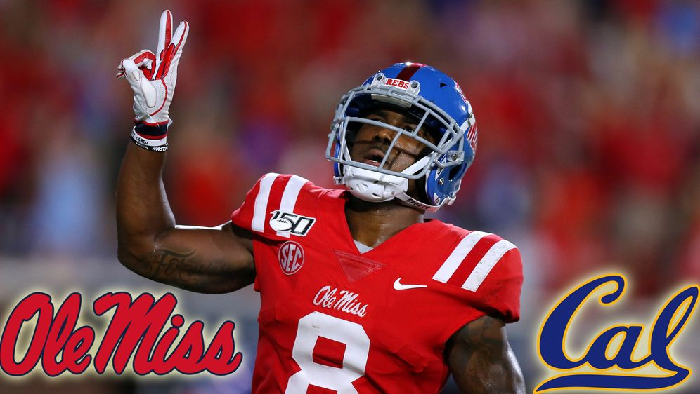 Der neue Wide-Receiver-Star von Ole Miss: Elijah Moore - Bildquelle: Getty