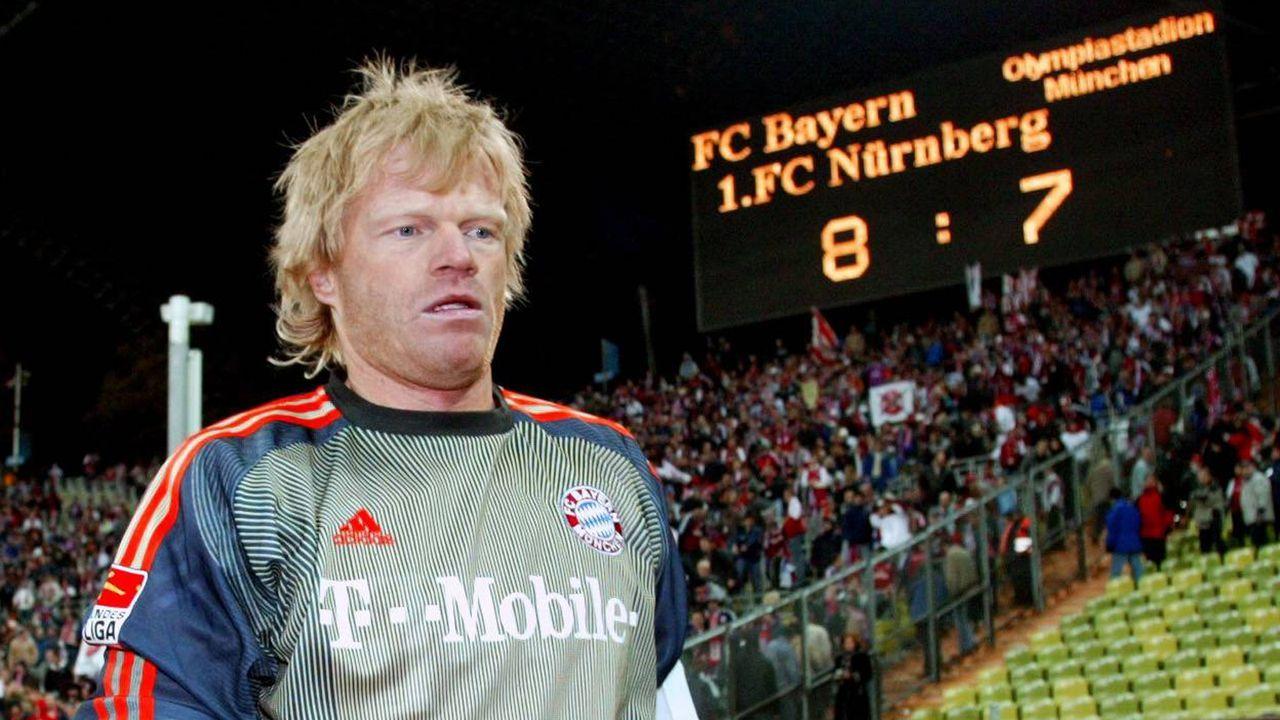 Platz 7 (geteilt): Bayern München - 1. FC Nürnberg 8:7 n.E. (18 Elfmeter/ Saison 2003/2004)