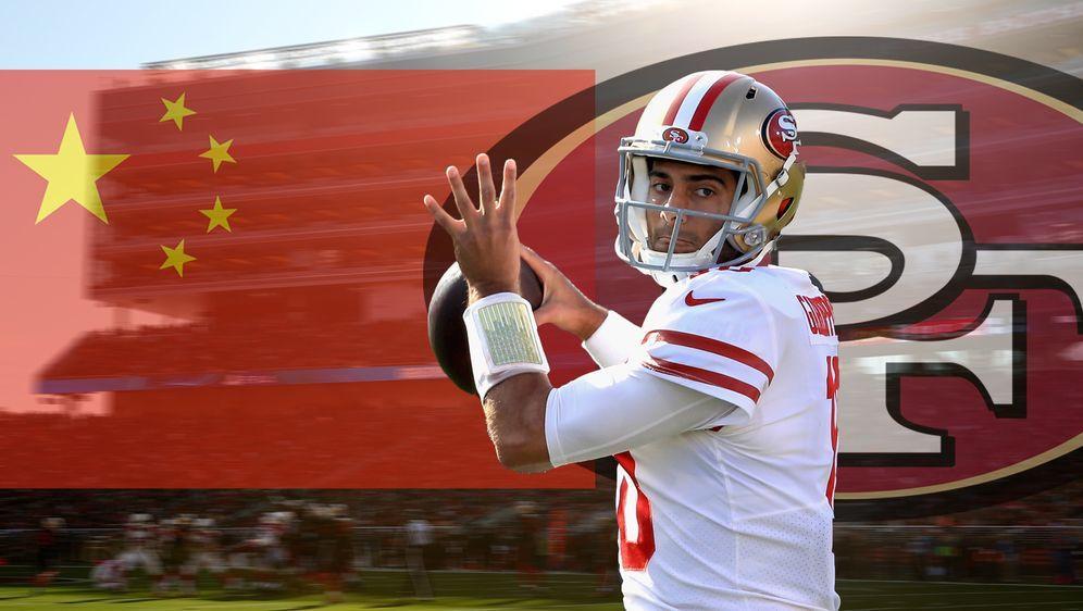 Die San Francisco 49ers könnten schon bald ein Spiel in China absolvieren - Bildquelle: Getty