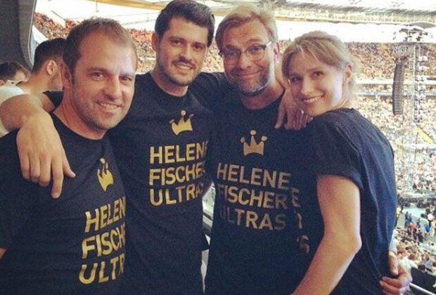 Jürgen Klopp als Helene-Fischer-Ultra - Bildquelle: twitter @Lisa_2303