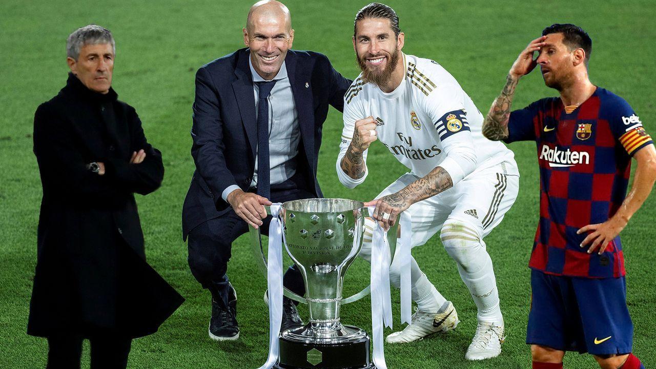 Triumph vs. Krise: Real Madrid und der FC Barcelona im Vergleich - Bildquelle: Imago