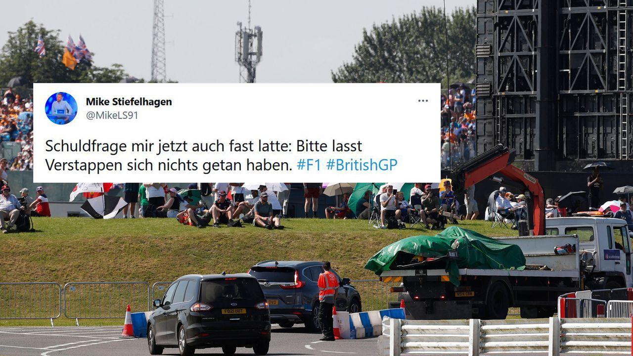 Hoffentlich geht es Verstappen gut - Bildquelle: imago images/Motorsport Images