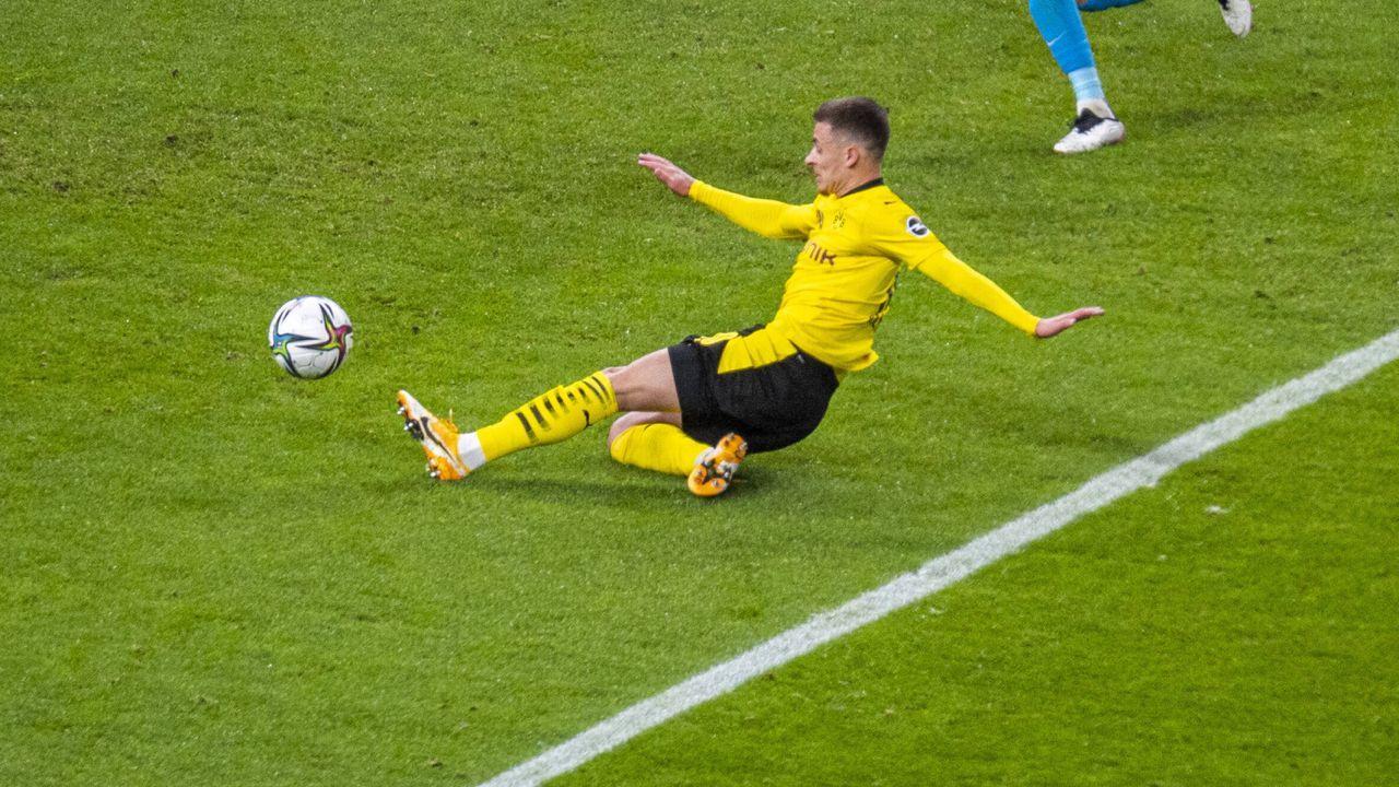 Platz 3 (geteilt): Thorgan Hazard (Borussia Dortmund) - Bildquelle: Imago