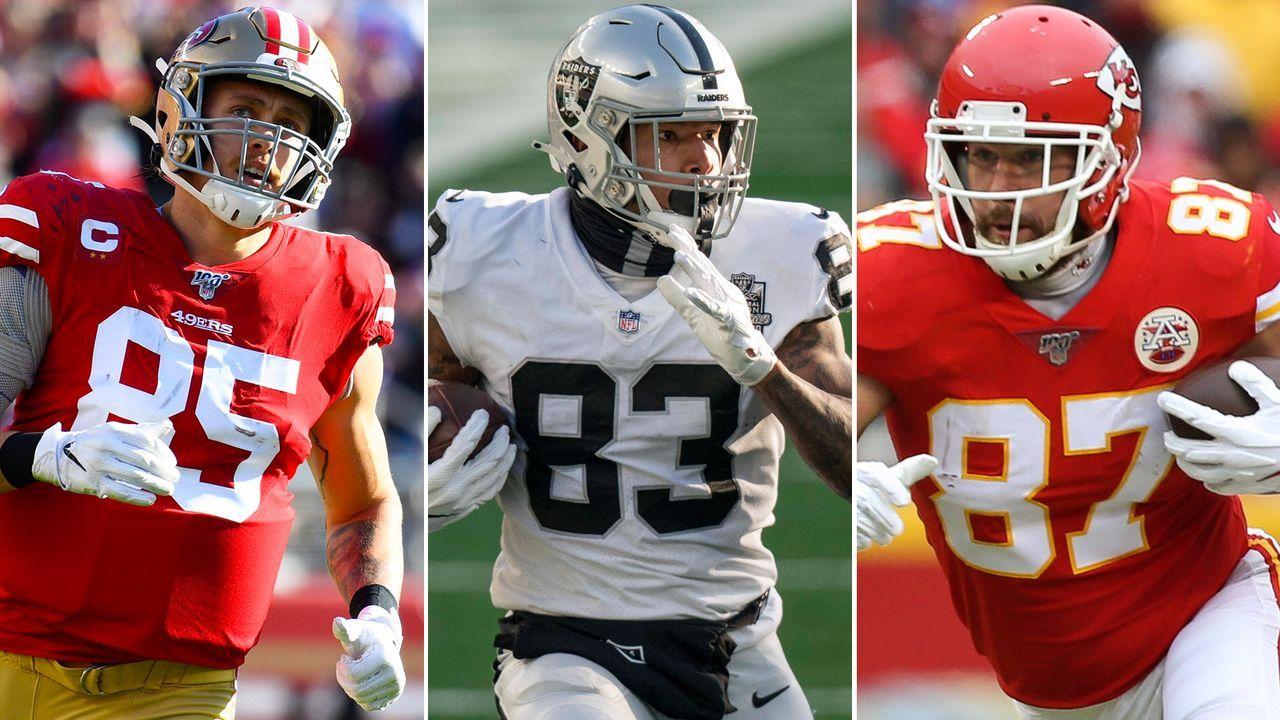 NFL: Die Top 10 der Tight Ends - Bildquelle: imago