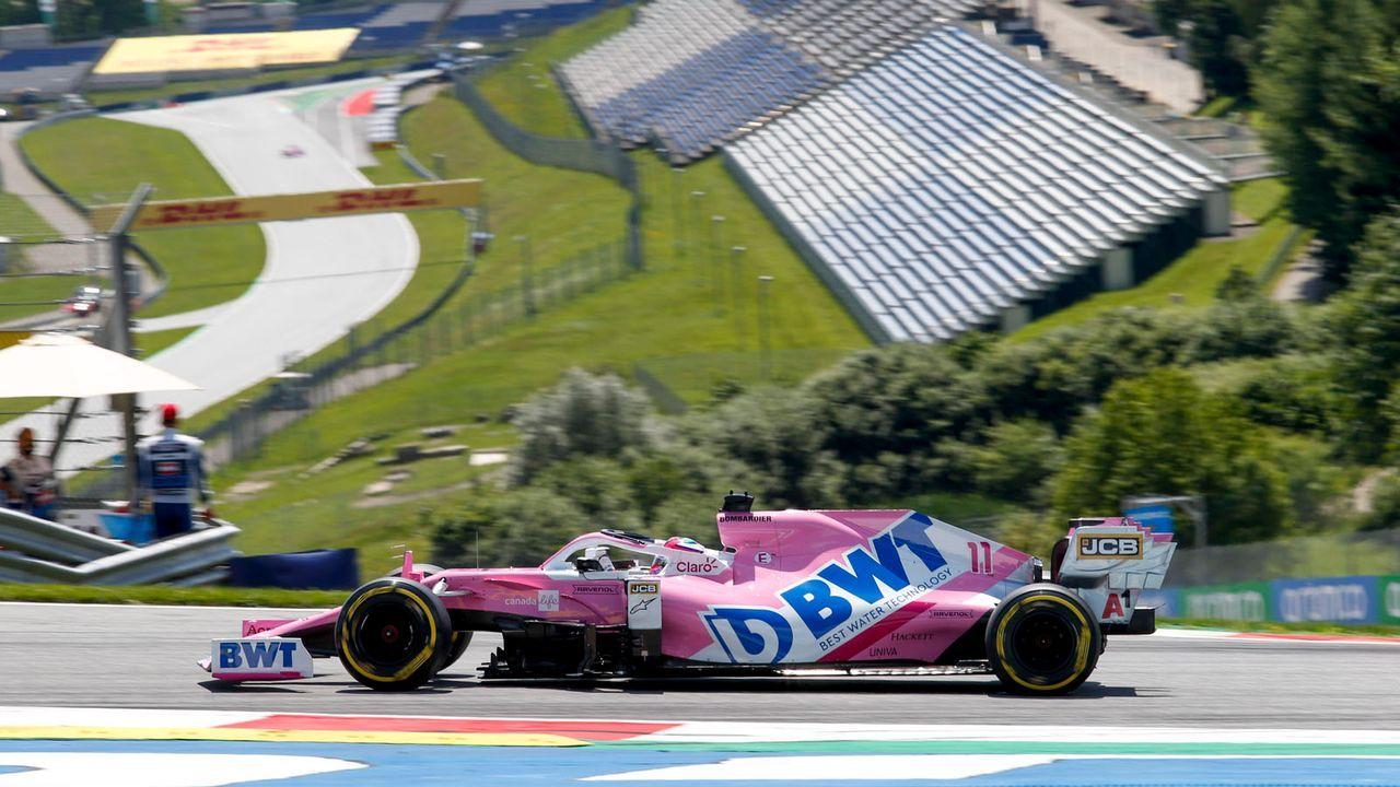 Racing Point-BWT Mercedes auf dem Wege zum Favoritenschreck? - Bildquelle: imago images/HochZwei